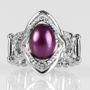 5 for $25! Paparazzi purple ring